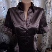Классическая блуза в полоску marks & spencer