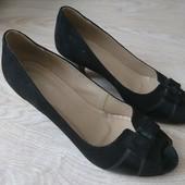 Туфельки с открытым носком