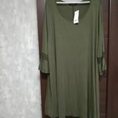 Фирменная новая вискозная платье-туника р.24-28