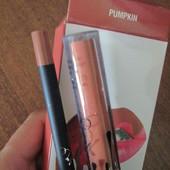 Набор для губ Kylie матовая помада и карандаш Pumpkin