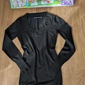 Не пропустите!!!Шикарное теплое трикотажное платьице-туничка на девочку 9-13 лет.Идеал!