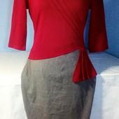 Класное тепленькое платье на осень в отличном состоянии!!!