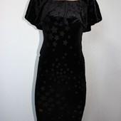 Качество!!! Романтическое бархатное платье/фактурный рисунок от New Look, в новом состоянии