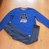 Пижама Star Wars кофта-флисовая штаны-х\б состояние очень хорошее