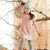 lupilu.классное хлопковое платье тонкой вязки  110/116