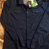 Livergy мужская рубашка на подкладке ( технология Bionic Finish Eco) размер евро 50