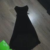 Красивое шифоновое платье.S-ка. Прекр.сост.