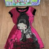 Не пропустите!!!Шикарное нарядное теплое платьице на девочку 9-12 лет.Состояние нового!