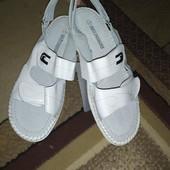 Тотальная распродажа!Кожаные босоножки.сандалии на липучках.Кожа!!!