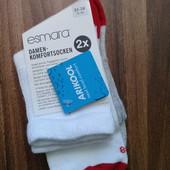 Носки Esmara с технологией Arikool лот 2 пары р.35-38