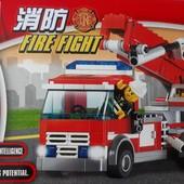 Конструктор. Пожарная машина