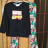 Пижама Марвел,Marvel,коттон,6-8 лет,сост.новой