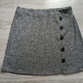 Фирменная красивая трикотажная юбка в отличном состоянии р.18-20
