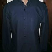 Коттоновая рубашка Slim FIT pp M