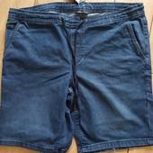 Стильные мужские джинсовые шорты Livergy (Германия), батал, размер евро 62