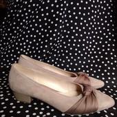 Gabor кожаные оригинальные новые туфли 39