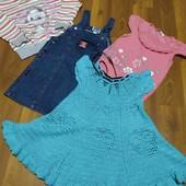 Набор вещей одним лотом на девочку 2 года.