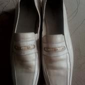 Кожаные туфли. Р40-41