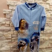 Stars Wars слип пижама мальчику 86-92 см