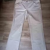 Женские бежевые брюки l xl