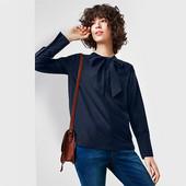 Шелковая блузка с лентами Тcm Чибо (Германия ) размер 44 евро=50-52