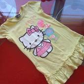 Hello kitty Sanrio Хелло Китти платье летнее девочке 5-6 лет
