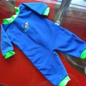 Детский теплый костюм / гидрокостюм/ теплый купальный комбинезон 3-6 м 68см SwimBest