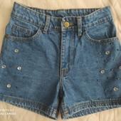 Фирменные джинсовые шорты!