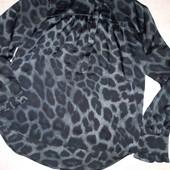 Очень стильная блуза от дизайнера Viki Leo Shirt с анималистическим принтом!