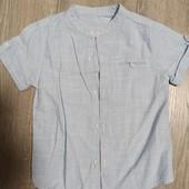 Рубашка 3-4 года.100% хлопок.