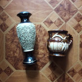Ваза и чашка, керамика