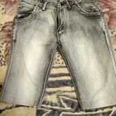 Шорты джинсовые 34р.