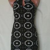 Фирменное платье из тонкого трикотажа,вискоза, Англия,m/L