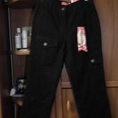 Черные джинсовые бриджи millonx на худенькую девушку или подростка,рs
