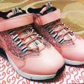 Стильные кроссовки для девочки 30 р - 19 см .Укр почта в подарок.