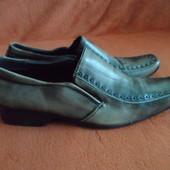Туфли 40 размер. Большемерят. Стелька 26,5 см