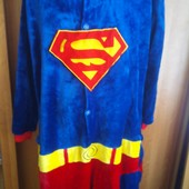 Пижама, человечек, кигуруми, слип, супермен, р. 160-165 см. Gemini