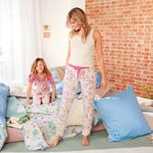 Джерси релакс брюки для дома и для сна Tchibo (германия), размер 40/42 евро=46/48