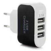 Сетевое зарядное устройство 3.1А на 3 USB разема!