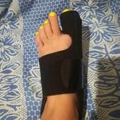 Ортопедический бандаж для большого пальца ноги Hallux Valgus с жесткой шиной