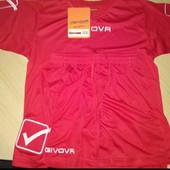 Футбольна форма (шорти і футболка) нова Givova.it