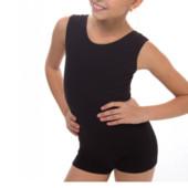 Комбинезон для гимнастики и танцев шорты + майка Б/У