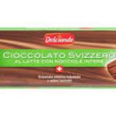 Оригинал!Шоколад швейцарский молочный с цельными орехами Dolciando 300 грамм..