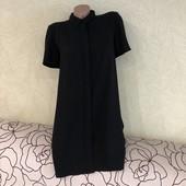 Элегантное платье на шифоновой подкладке French connection, на спинке сетка с вышивкой