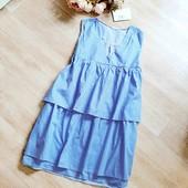 Платье зефирка М-L