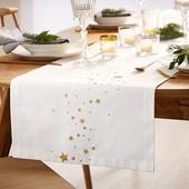 ☘ Праздничная скатерть-дорожка для сервировки стола от Tchibo (Германия), размер180*40
