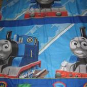Полуторный комплект постельного с Томасом,130Х195,character World