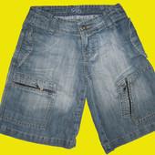 Джинсовые шорты,рост 134 см,Denim