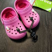 Распродажа!Crocs, оригинал, джибитсы в подарок.