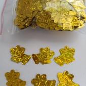 Золотые колокольчики ,300шт